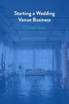 If you're thinking about starting a wedding venue business, the most important first step is taking off those rose-colored glasses. Running a wedding venue company is more than a labor of love, and far more challenging than you may think. It takes grit, honesty, and resources — not unlike the institution of marriage itself. Read on to learn the 11 essential first steps to take before opening a wedding venue, and get answers to top questions about the process.