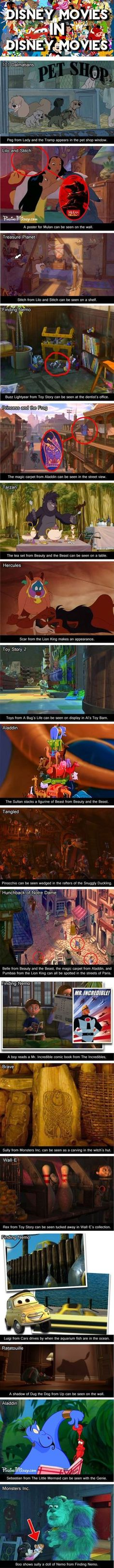 funny disney memes Disney movies within movies - Typical Pixar;) one or two I hadnt noticed before. funny meme so true Walt Disney, Disney Pixar, Disney Facts, Disney And Dreamworks, Disney Magic, Funny Disney, Disney Characters, Disney Nerd, Disney Fanatic