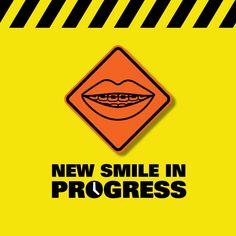Enderezar tus dientes puede ser molesto a veces, ¡pero la espera y tu esfuerzo valdrán la pena!  #DentistasTrabajando :)