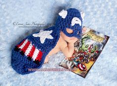 Digital Crochet Pattern  No 57 American Crusader by calleighsclips, $5.95