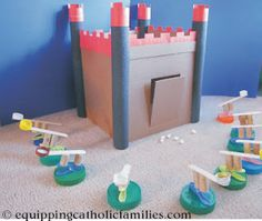 castle and catapult craft!
