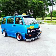 Suzuki Carry, New York Tattoo, Kei Car, Big Boyz, Mini Bus, Japan Cars, Mini Trucks, Daihatsu, Custom Vans