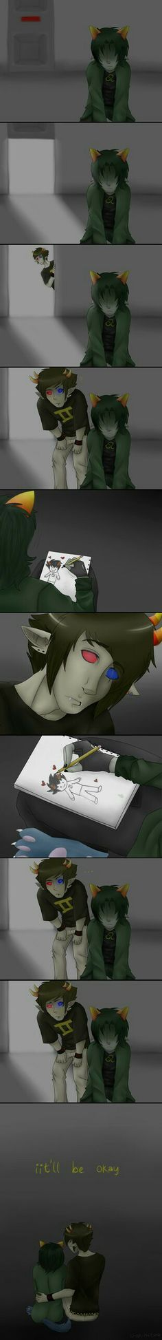 I never will ship this, but I can see sollux coming up to give nep some courage to ask Karkat to be her matesprite