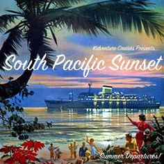 South Pacific Sunset  We've sailed to the deep blue waters of the South Pacific and into the heart of Polynesia.  Join us as we immerse ourselves in the traditions and culture of this beautiful part of the world.  From luaus to longboards, we'll get barefoot in the sands and admire the sunset together. Character Anchor: Service