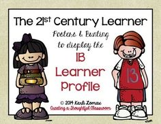 This product includes posters and decorative bunting to help you create an attractive classroom display featuring the IB Learner Profile.   by Karli Lomax
