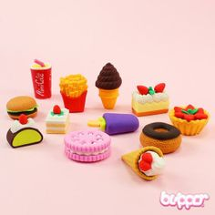 Yummy Eraser Set - Series 2