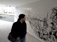 """Design para a exposição """"Os Bonecos Rebeldes"""" by Fausto Vicente e João Morgadinho"""