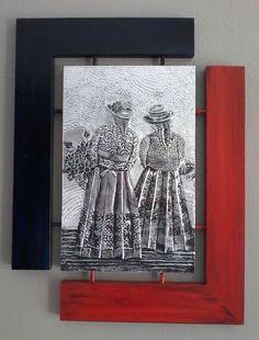 Damas de Tarma.  Taller de Mary, Lima, Perú.