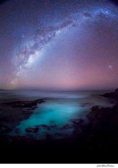 Milky Way, June 18, 2012, Koodinga, South Australia // John White Photos