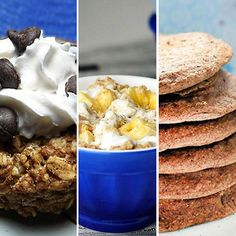 7 Healthy Dessert-for-Breakfast Recipes -- Which is your favorite?