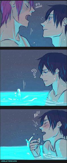 Pinning again bc why not || (2/2) Haru x Rin [Free! ~ RinHaru // HaruRin]
