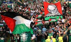 Why Celtic fans flew the flag for Palestine. Solidarity with Palestinians shows the club's supporters have not forgotten their own roots. Celtic are likely to be fined for allowing their fans to wave Palestinian flags at a Champions League game.