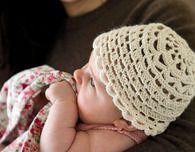 Alpaca and Silk Baby Hat (Free Crochet Pattern)