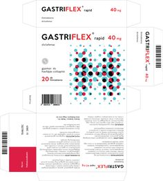 Gastriflex Medicine (Student Project) on Packaging of the World - Creative Package Design Gallery