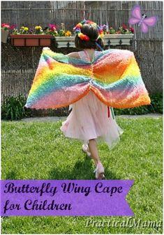 Easy butterfly wing