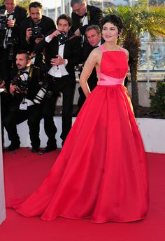 Audrey Tautou at 2013 Cannes
