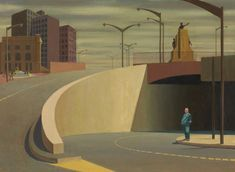 Cahill Expressway - Jeffrey Smart (1962)