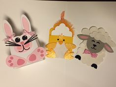 Susan's Easter Treats class using Taylored Expressions Sack It dies!