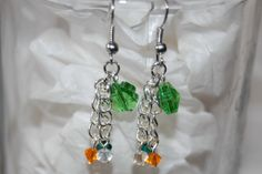 Clover Crystal Earrings -- St. Patrick's Day $15 via @Shopseen