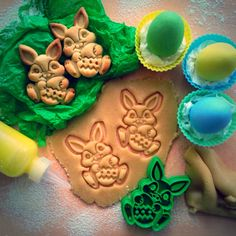 Happy Easter! Easter Bunny 3D printed Cookie Cutter designed by OogiMe.