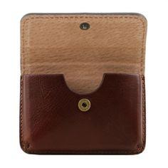 Exclusieve lederen visitekaartjeshouder - TL141378 - Tuscany Leather