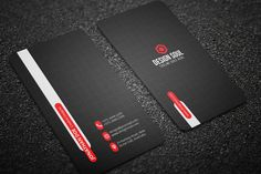 Corporate Business Card by on Envato Elements Premium Business Cards, Cool Business Cards, Custom Business Cards, Corporate Business, Business Card Design, Templates, Card Designs, Brand Identity, Website