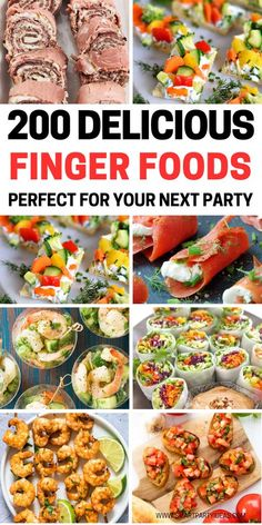 Host an epic party with one or many of these delicious small bite party appetizers. With over 200 delicious appetizers to pick from it'll be hard to choose just one. hard Best Small Bite Party Appetizers Perfect For Any Event Party Finger Foods, Finger Food Appetizers, Appetizers For Party, Delicious Appetizers, Appetizer Recipes, One Bite Appetizers, Fingerfood Party Ideas, Easy Summer Appetizers, Finger Food Menu