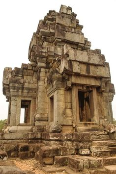 Near the top @ Ta Keo - Siem Reap, Cambodia #Angkor