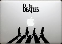 The Beatles abbey road laptop decal MacBook by HipstersParadise101