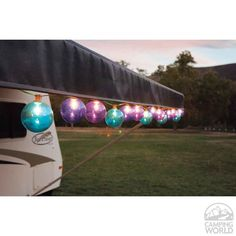 Jewel Tone Globe Patio Lights Intersource Enterprises Camping World