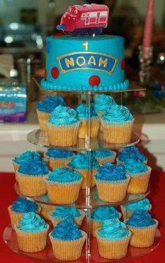 Chuggington cake/cupcakes