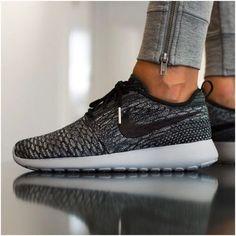 604d3e8a264 Nike Roshe One Flyknit Sneakers •Roshe One Flyknit Sneakers. Cool Grey Wolf  Grey