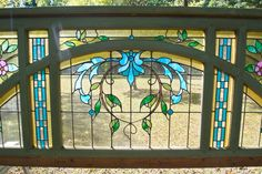 Neo-Classical Stained Glass Hall Entrance Architectural Materials, Stained Glass, Entrance, Moose Art, Architecture, Painting, Animals, Arquitetura, Entryway