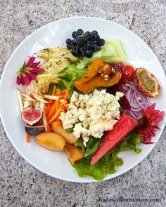 Garden salad at Babylonstoren. Get the recipe