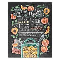 Artículos similares a Peach Print - Kitchen Art - Peach Art - Peach Cobbler - Chalkboard Art - Chalk Recipe Art - Summer Kitchen - Chalk Art Recipe - Hand Drawn en Etsy Summer Chalkboard Art, Chalkboard Print, Chalkboard Decor, Chalkboard Drawings, Chalkboard Lettering, Smoothie Menu, Wassail Recipe, Lily And Val, Menu Design
