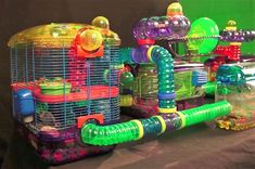 Gerbil Cage, Kaytee CritterTrail Village for Gerbils, Mice or Hamsters includes Burrowing Maze Dwarf Hamster Food, Dwarf Hamster Cages, Cool Hamster Cages, Gerbil Cages, Robo Dwarf Hamsters, Robo Hamster, Hampster Cage, Syrian Hamster Cages, Diy Home