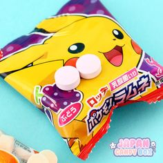 ✰✰✰ POKEMON Candies from last month's box come in several different flavors ►  http://www.japancandybox.com/japan-candy-box-december-2015/