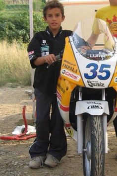 Young Marc Marquez