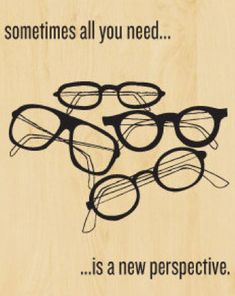 Sometimes all you need is a new perspective. Or a new job in eye care.