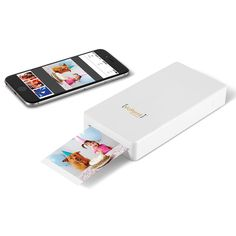 For live events? Or in-person intensive coaching days? The Portable Smartphone Photo Printer - Hammacher Schlemmer