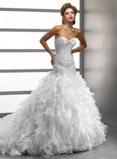 Brinley - by Maggie Sottero :: winter wedding dress