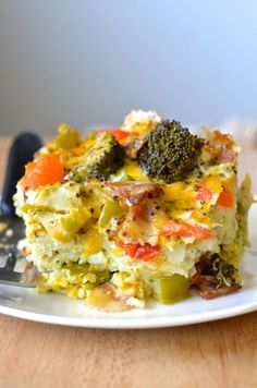 Everything You Want For Breakfast Casserole