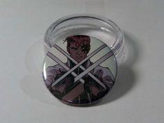 Comic Book 1.5 Button// X-Factor// Shatterstar, $1.00