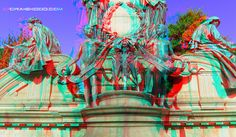 Edinburgh (3d view with red/blue glasses)