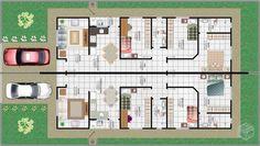 Apartment floor plan narrow 43 ideas for 2019 Modern Apartment Decor, Modern Bedroom Decor, Apartment Layout, Apartment Plans, Apartment Interior Design, Apartment Decorating For Couples, Narrow House Plans, Indian House Plans, Simple House Design