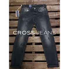 https://instagram.com/cross_jeans/ #jack #regular_tapered #black #denim #jeans #crossjeans #cross_jeans