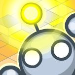 Light-bot a Programming Puzzle Game available for iOS, Web, Android