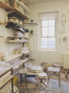 springgreens:  We were given the opportunity to visit Nicola Tassie's studio this month, a truly inspiring and encouraging woman.