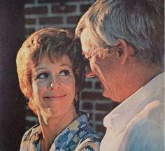Carol Burnett and Joe Hamilton