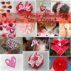 Lovely DIY Hair Accessories!